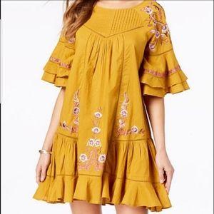 Free People Pavlo mini peasant/boho dress